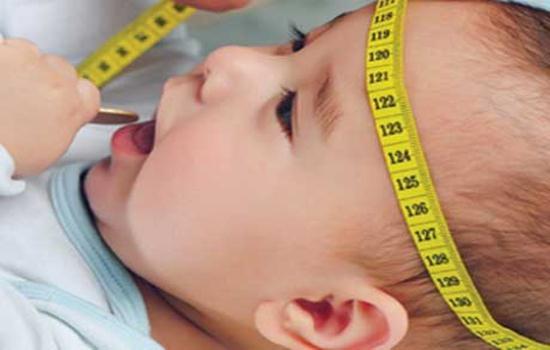 Số đo vòng đầu và sự phát triển của trẻ