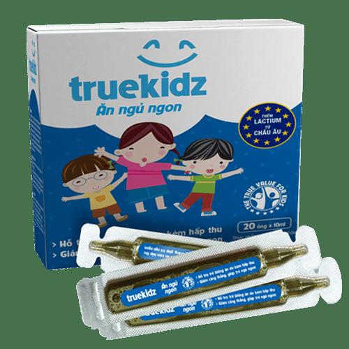 Siro ăn ngủ ngon Truekidz – Siro cho trẻ biếng ăn, khó ngủ không còn là nỗi lo của cha mẹ
