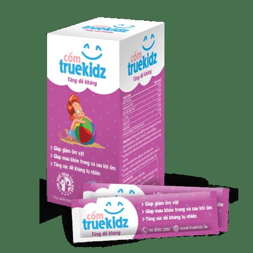 Truekidz tăng đề kháng phòng ốm vặt cho trẻ