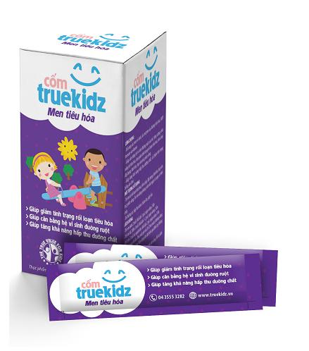 Truekidz men tiêu hóa trị rối loạn tiêu hóa hiệu quả