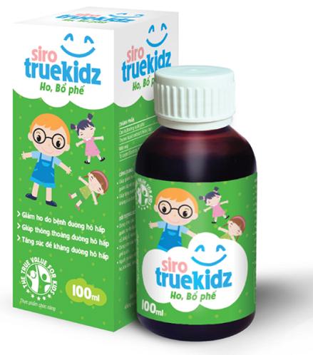 Hùng tây trị ho có trong sản phẩm Truekidz ho bổ phế