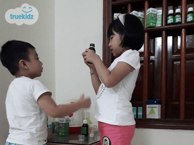 Mẹ Ninh Bình quyết nói không với kháng sinh, trị ho cho con cực kỳ hiệu quả