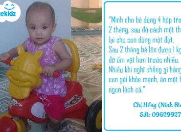 Ninh Bình: Phút trải lòng của người mẹ trẻ chăm con biếng ăn suy dinh dưỡng