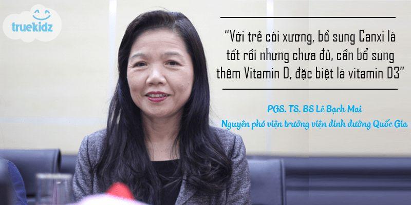 Chuyên gia dinh dưỡng: Bổ sung Canxi cho trẻ như nào mới hiệu quả nhất